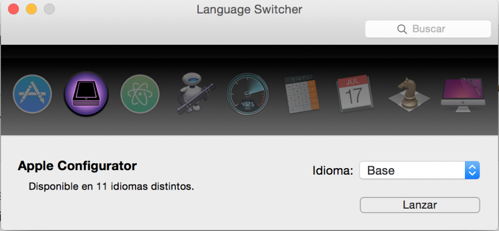 Language Switcher